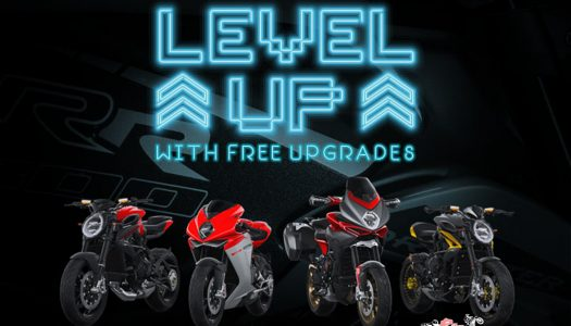 Upgrade to the 'Next Level' for free with MV Agusta!