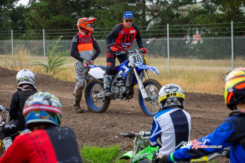 Metcalfe - 'The basic techniques of controlling your dirt bike which in turn will make you a safer rider.'