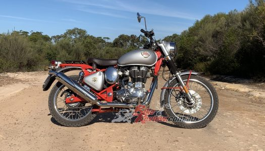 Video Review: Royal Enfield Bullet Trials 500 Works Replica