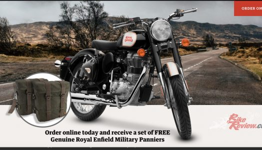 1 Week Left! Free Panniers & Mounting Kit with Classic 350