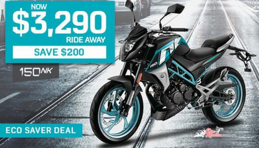 Pick up a 2020 CFMOTO 150NK for $3,290 Ride Away!