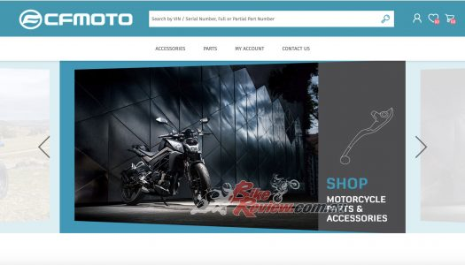 CFMOTO Australia launch online genuine spares & accessories store, shop.cfmoto.com.au