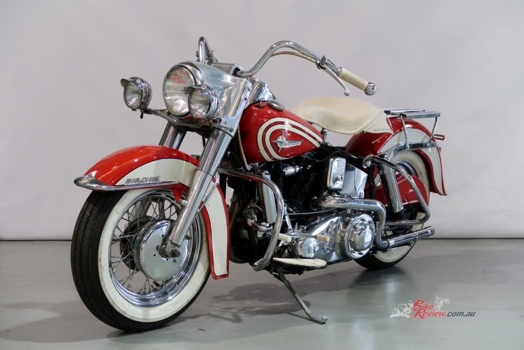 1960 Harley-Davidson FL Duo Glide that is currently up for auction with Shannons.