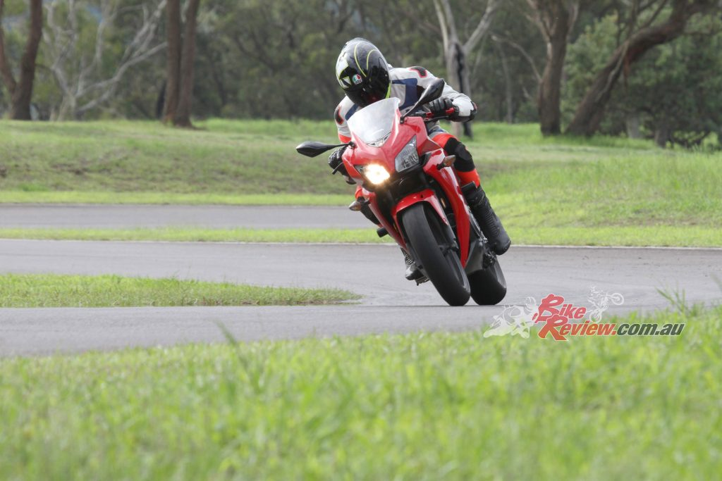 Nick did around 2000km on the roads before heading for some track testing, where he found the BT-016s to be predictable and great handling.