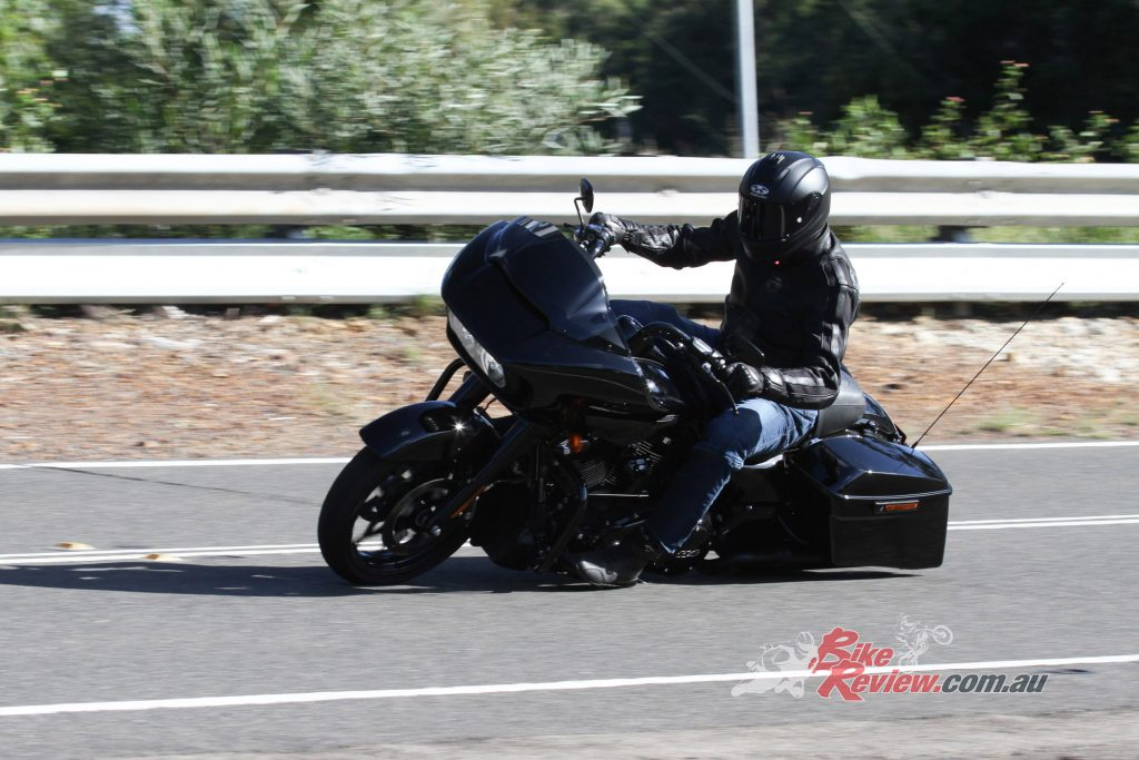 """""""I jumped on the Road Glide Special with no plan or destination, just a full tank of fuel""""."""