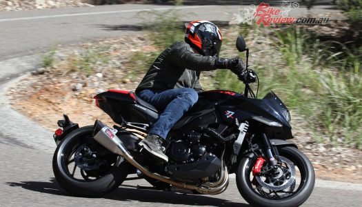 Tweaked: Suzuki PTR GSX-S1000 KATANA video review