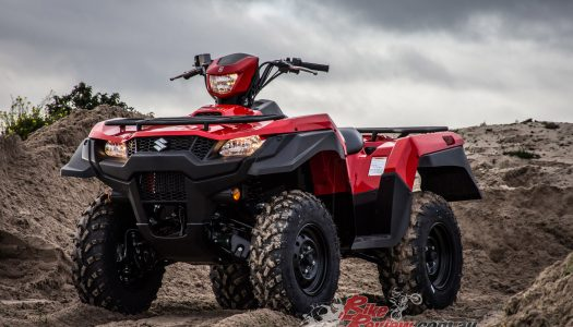 Suzuki Motorcycles Australia stance on ATV Safety Standards