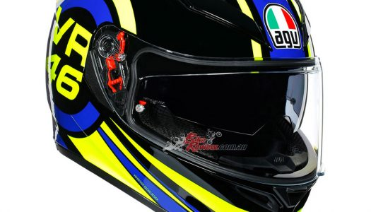 Two New AGV Race Replicas, Valentino Rossi, Joan Mir