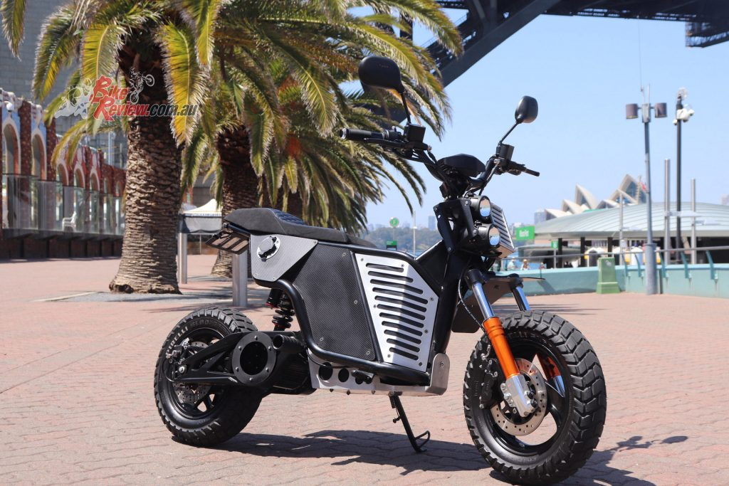 Fonzarelli's NKD electric motorcycle won the award for Automotive - Best Exterior.