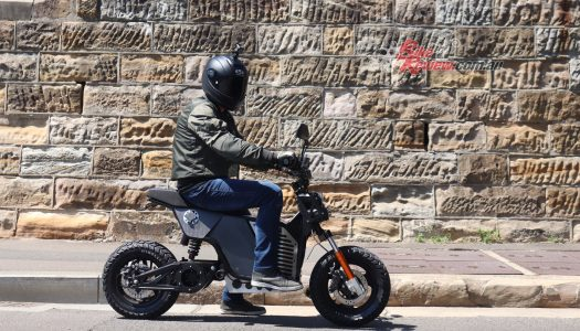 Video Review: Fonzarelli NKD electric motorcycle