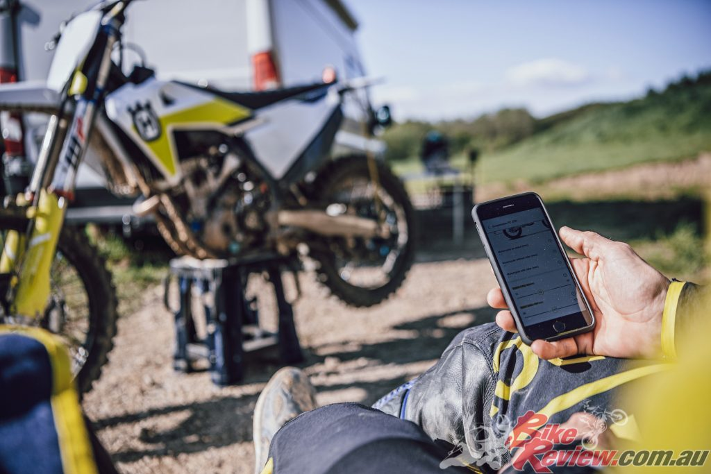 Accompanying the launch of the 2021 motocross range is the new Husqvarna Motorcycles app.