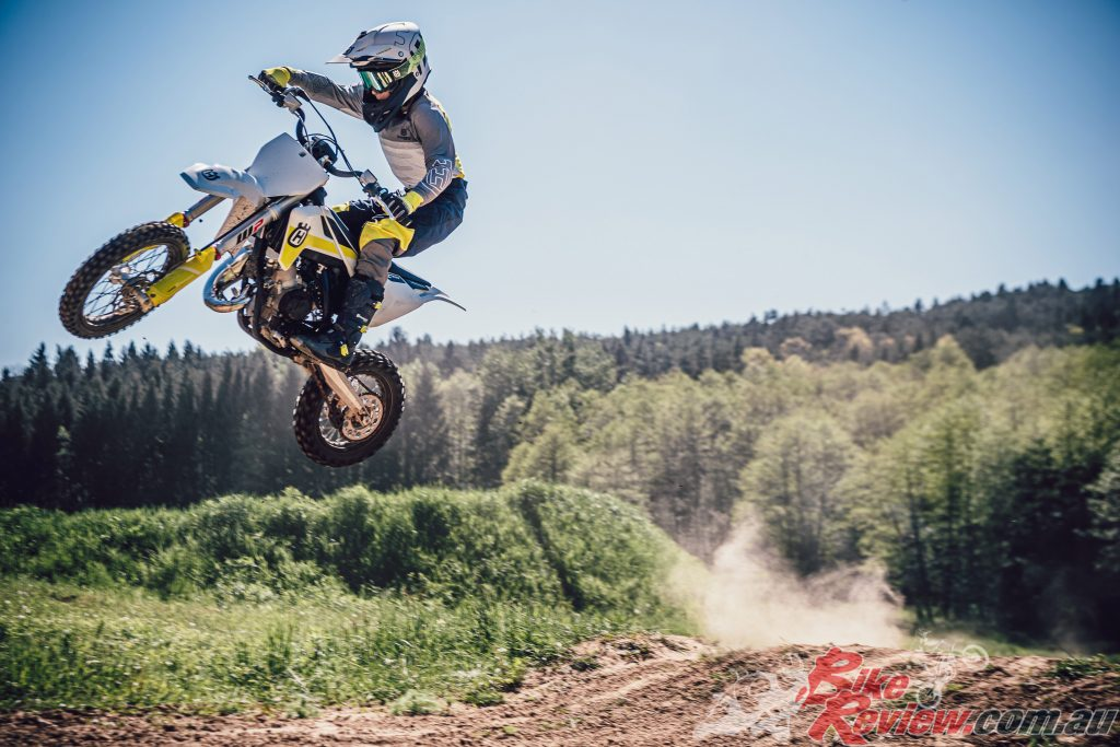 The Husqvarna 2021 motocross range will start to be available in Australia and New Zealand from October.