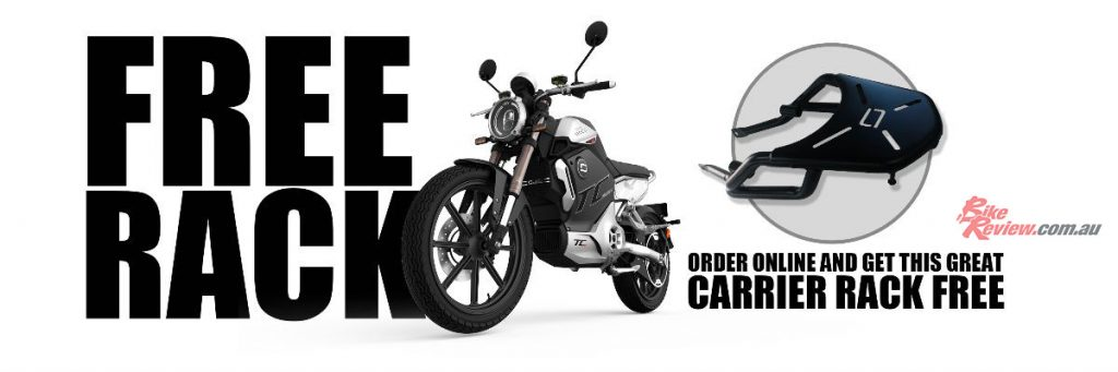 Choose between the cafe-racer styled TC, or upgrade to the highly anticipated TC Max.
