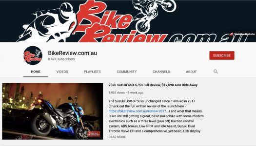 Have You Subscribed To Our BikeReview YouTube Channel?