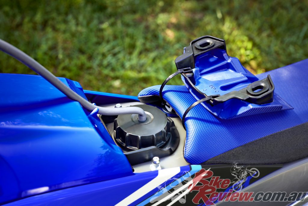 This enduro racer also continues to feature Yamaha's advanced racing technology.