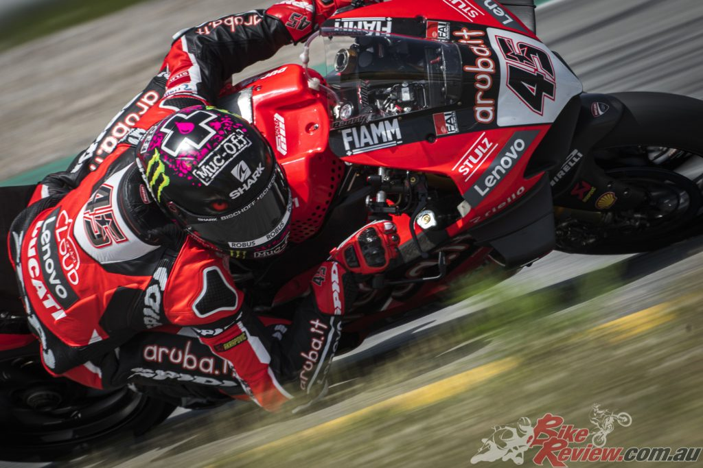 """""""I am satisfied with this test. We have worked very well these two days especially with used tyres..."""" - Redding"""