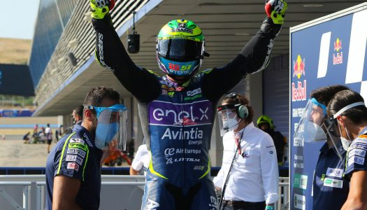 MotoE Rd1: Jerez,  Granado beats Ferrari & Aegerter to first win