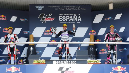 Moto3 Rd2: Jerez, Arenas wins a classic Moto3 melee to the line