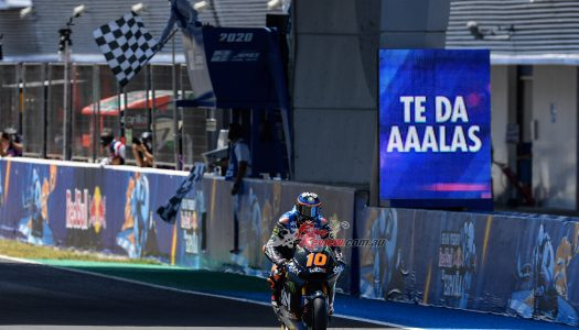 Moto2 Rd2: Jerez, Marini storms Jerez for first Moto2 win of 2020