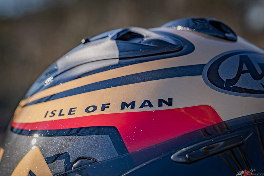 The decision was made by Arai in order to honour the spirit of the TT in its absence.