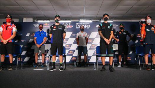2020 MotoGP riders talk all things racing once again…