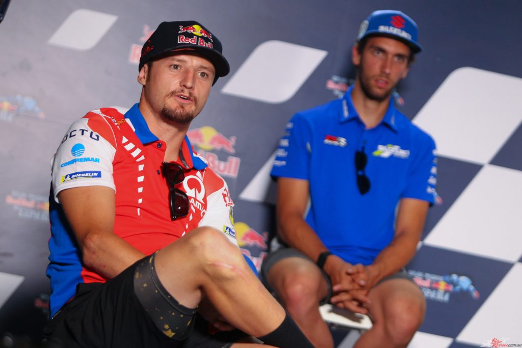Miller already has his 2021 signed on the dotted line as he'll move to the factory Ducati Team.