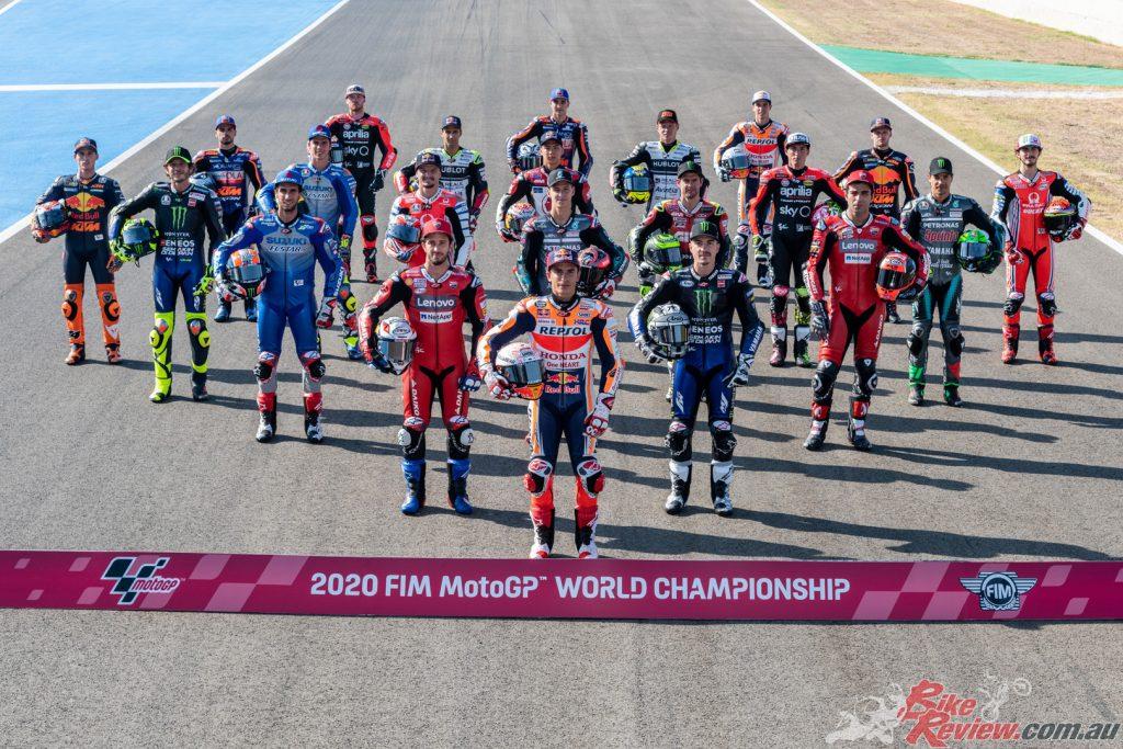 The class of the 2020 MotoGP Season.
