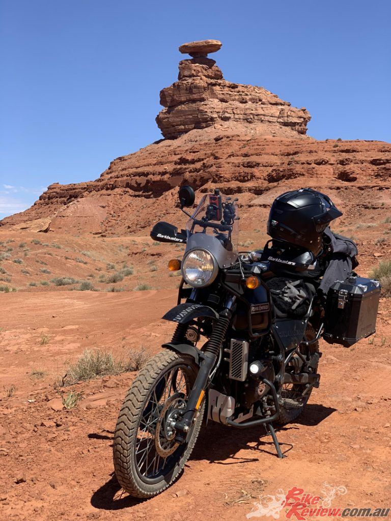 Graeme took a trip through the rugged American desert, putting Royal Enfield's Himalayan to the test on the way...