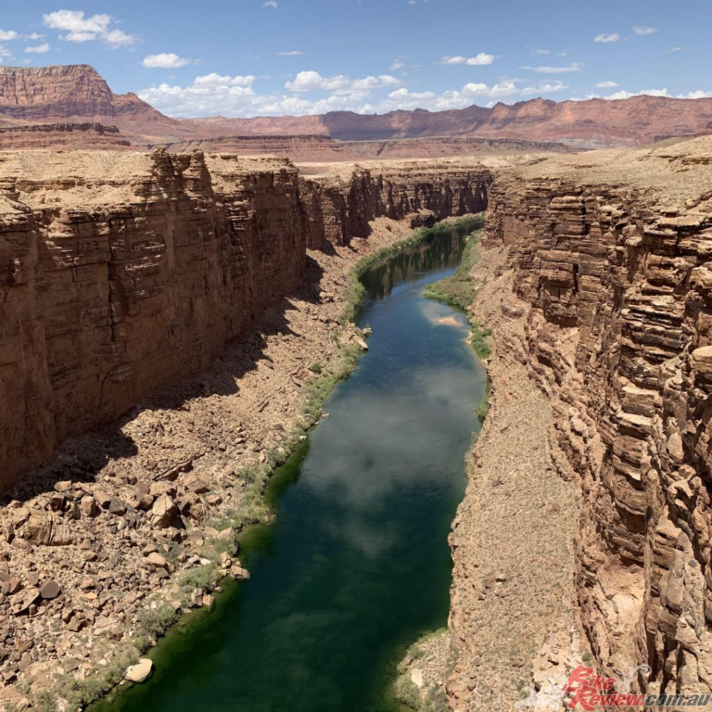 Colorado River, Lee's Ferry, Utah.