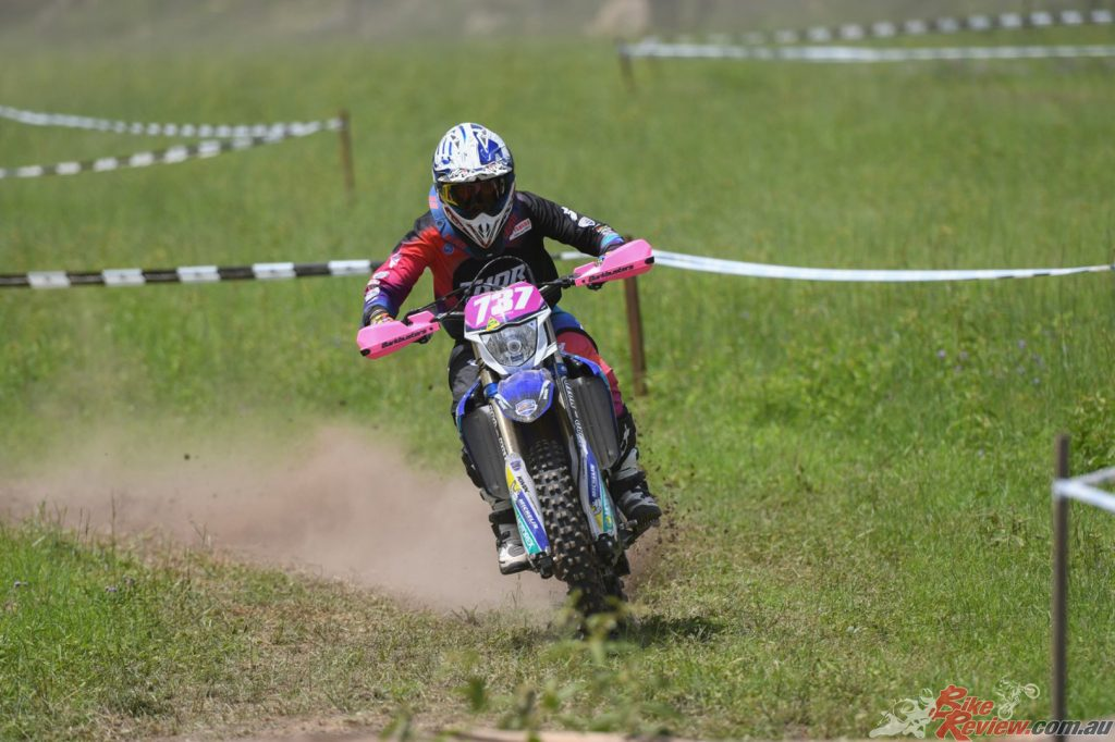 Jess Gardiner showed she just isn't all off road and charged to a second place finish in the Women's class.