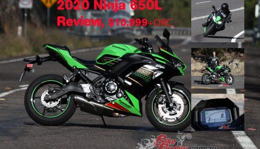 Video Review: 2020 Kawasaki Ninja 650L