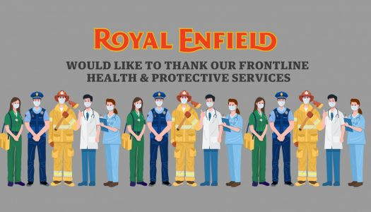 Royal Enfield Appreciation Pack for Frontline Workers