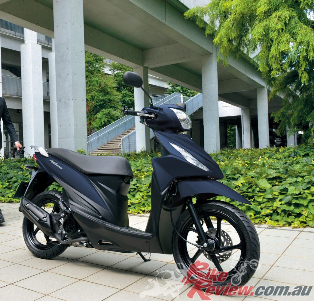 Suzuki says the Address 110 boasts streamlined dimensions that are built with generous comfort in mind.