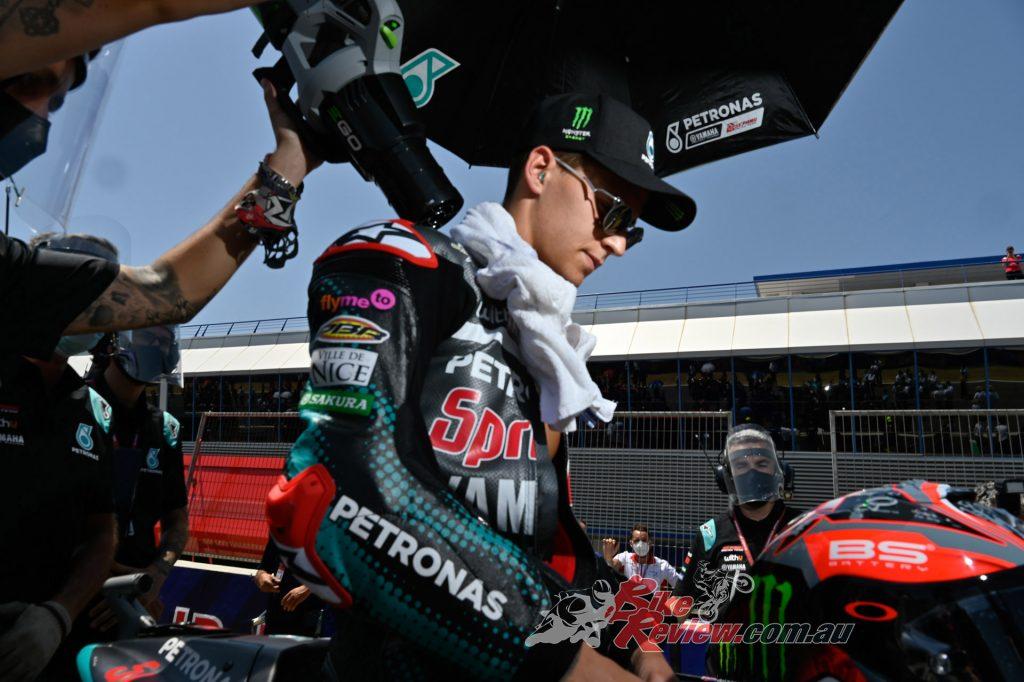 Can Fabio Quartararo maintain his reign during the remaining 12 races?