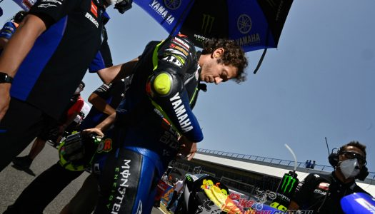 MotoGP Aragon: Rossi out with COVID-19, the battle continues