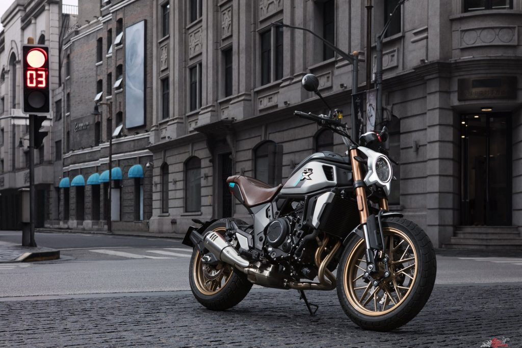 CFMOTO will start 2021 with a bang with the arrival of the first of three full-power 700CL-X models.