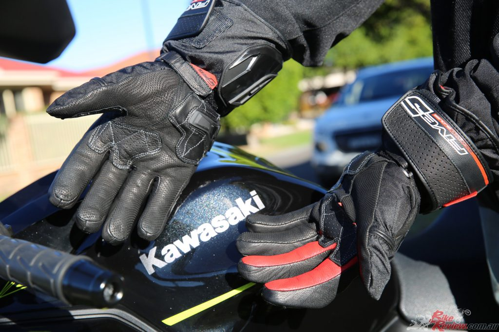 Five takes the win in the first round against the DriRider Highway glove with their WFX Max.