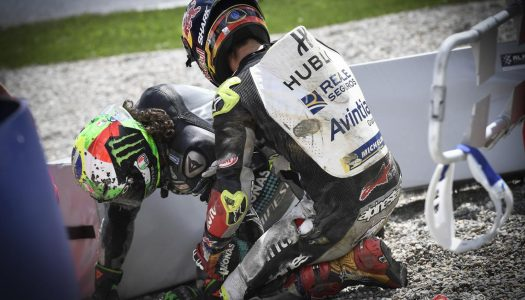 Morbidelli and Zarco's nightmare MotoGP crash
