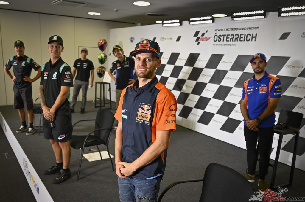 Some of the key players in the 2020 season come together for a press conference ahead of racing his weekend.