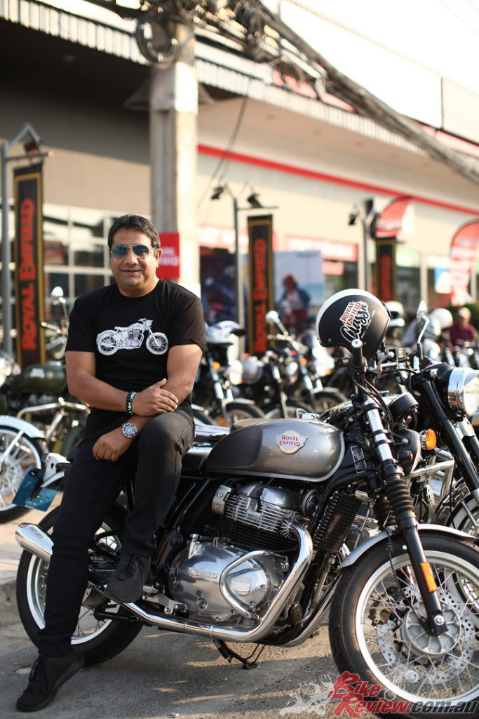 Royal Enfield has recorded an overall volume growth of 96% across its international markets in FY20.