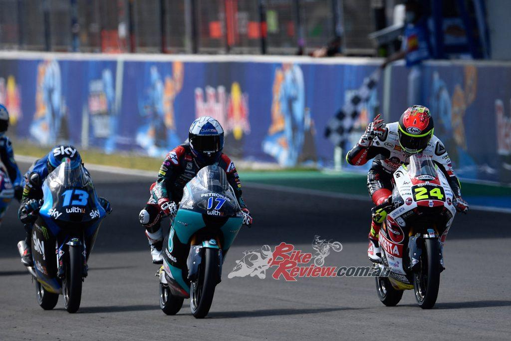 Moto3, Jerez.