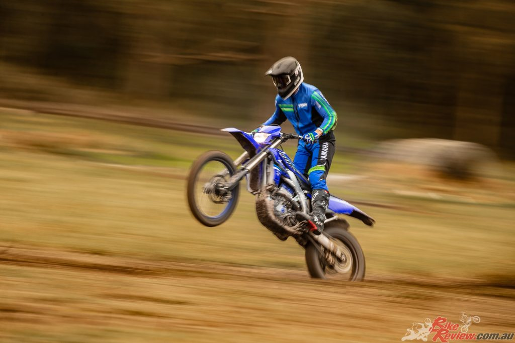 All WR450Fs come with full ADR compliance and so can be road registered to ride in Australian state forests