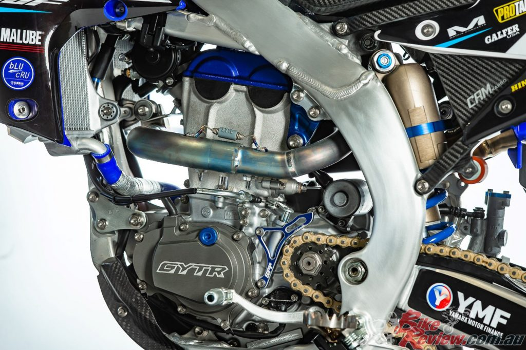 Serco have improved upon Yamaha's already strong YZ250F motor with various aftermarket components.