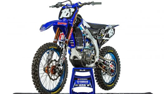 Taking a look at Aaron Tanti's Serco Yamaha YZ250F