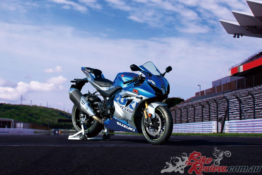 The 100th Anniversary GSX-R1000R will be strictly limited to 30 units and will be available early 2021.