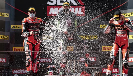 WorldSBK News: Rd6, Catalunya, Spain – Rea, van der Mark and Davies share victory!