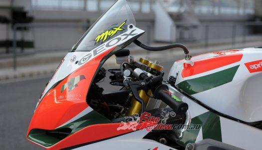 Throwback Thursday: Riding Max Biaggi's Alitalia RSV4 Factory Superbike