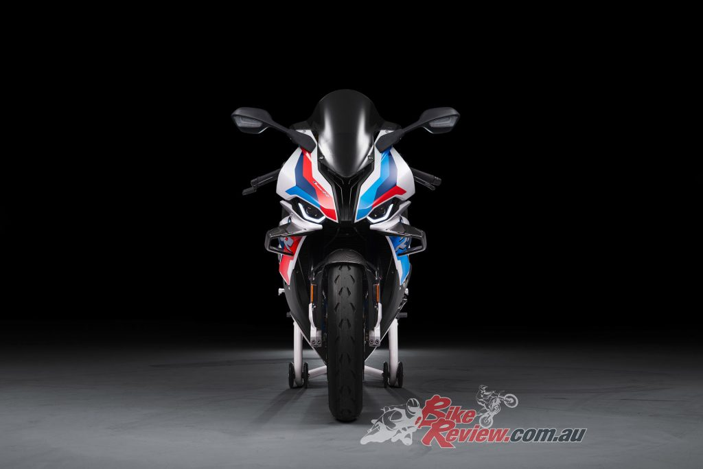 The M 1000 RR will be here in Q1 2021, prices and more details yet to be announced.