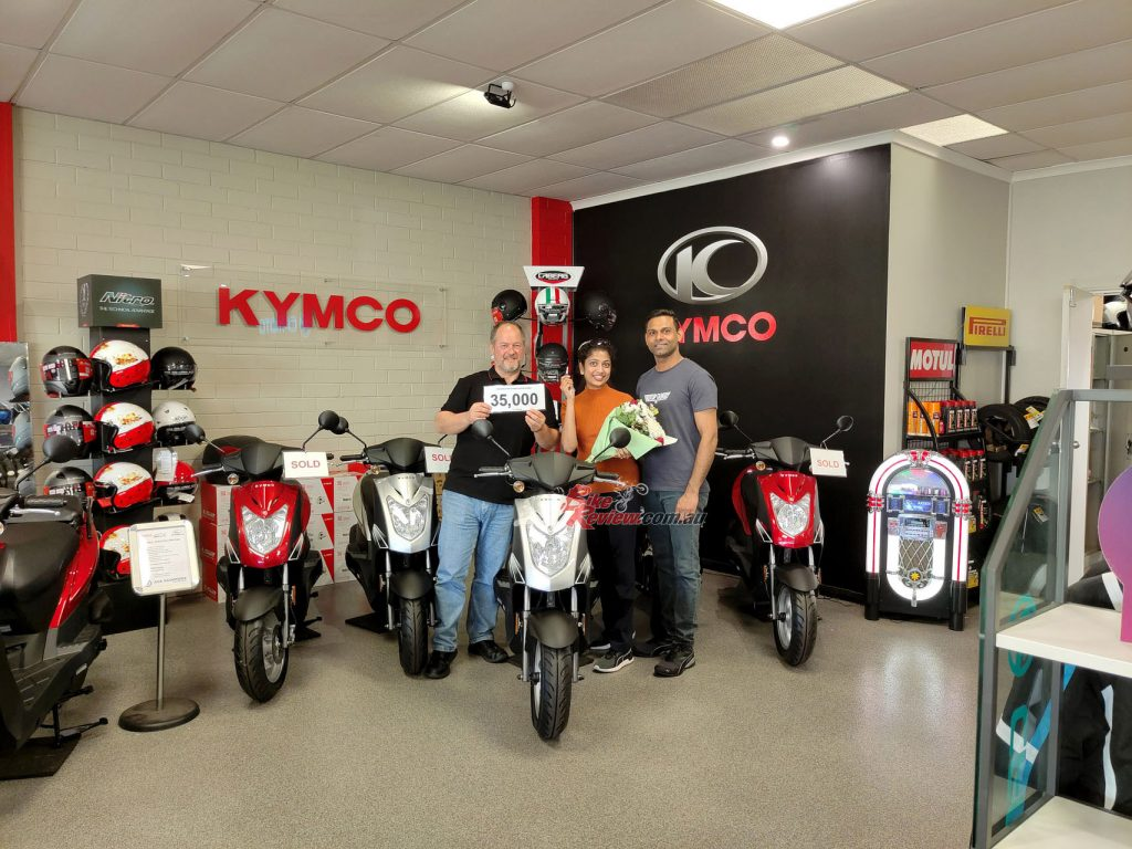KYMCO celebrates 35,000 vehicle sales in Australia!