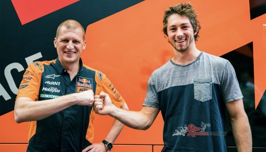 Remy Gardner signs for Red Bull KTM Ajo for 2021!